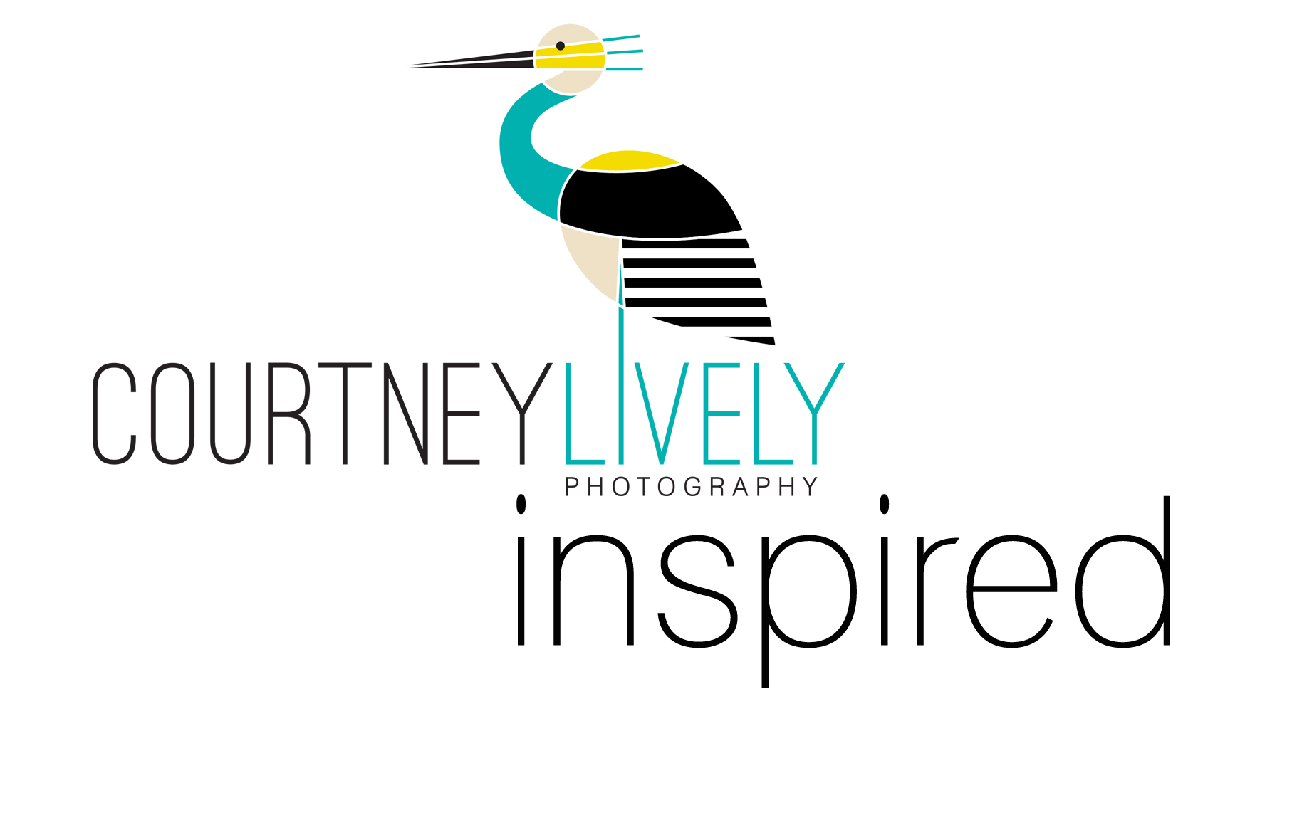 Courtney Lively Photography -Inspired Logo
